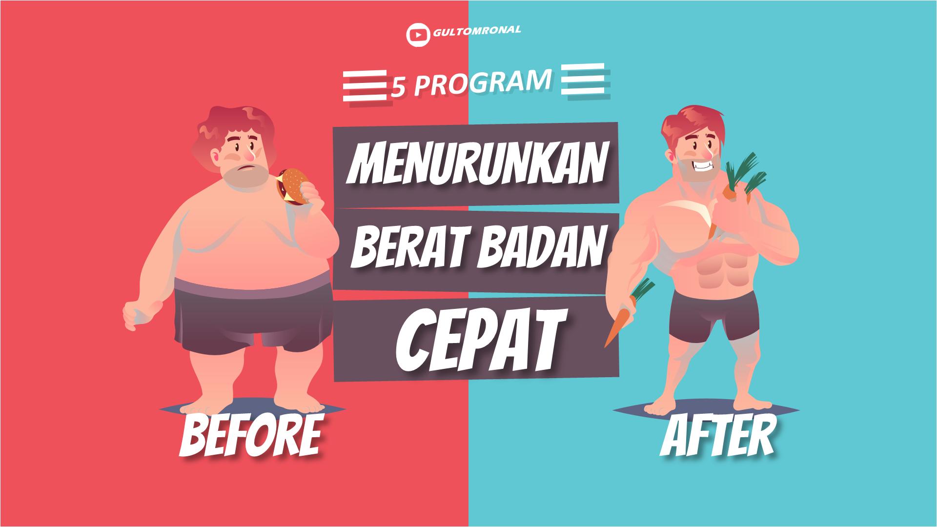 5 Program Menurunkan Berat Badan